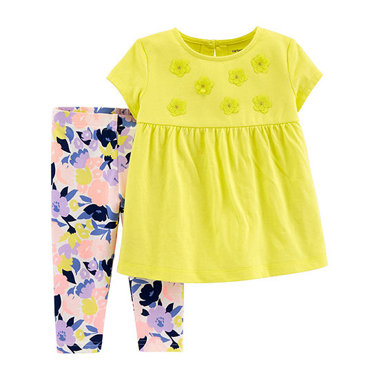 Carter's Capri Toddler Girls 2-pc. Legging Set
