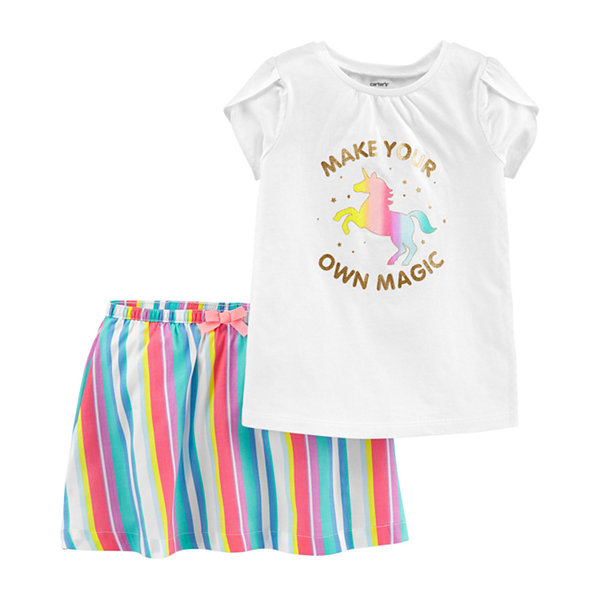Carter's 2-pc. Skort Set Toddler Girls