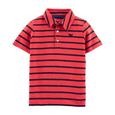 Carter's Boys Collar Neck Short Sleeve Graphic T-Shirt-Toddler