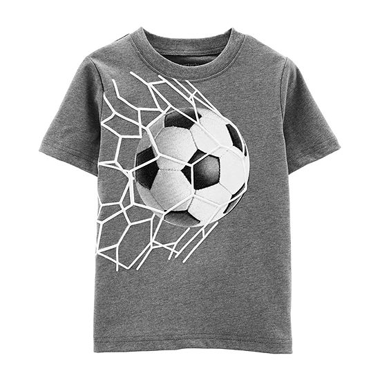 007d466d Carter's Boys Round Neck Short Sleeve Graphic T-Shirt-Toddler - JCPenney