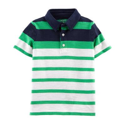 Carter's Boys Short Sleeve Polo Shirt - Toddler