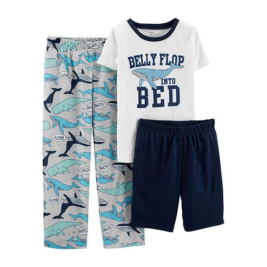 Carter's 3-pc. Pajama Set Preschool / Big Kid Boys