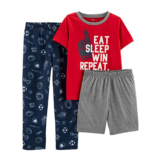 Carter's 3-pc. Pajama Set Preschool / Big Kid Boys
