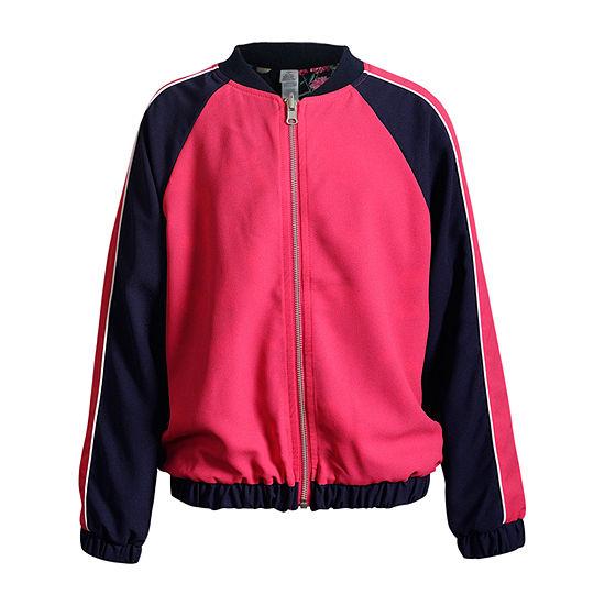 Obsess Big Girls Lightweight Bomber Jacket