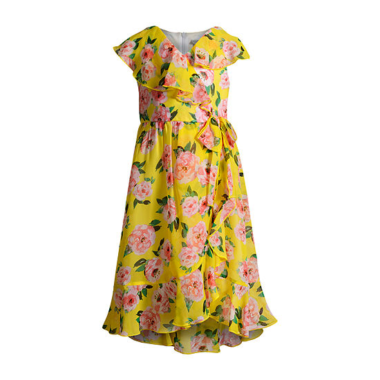 Emily West Girls Sleeveless Floral Maxi Dress - Preschool / Big Kid