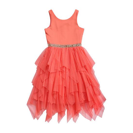 Emily West Sleeveless Party Dress - Preschool / Big Kid Girls