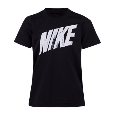 Nike Boys Round Neck Short Sleeve Dri-Fit T-Shirt-Preschool