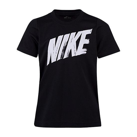 Nike Boys Round Neck Short Sleeve Dri Fit Graphic T Shirt Preschool