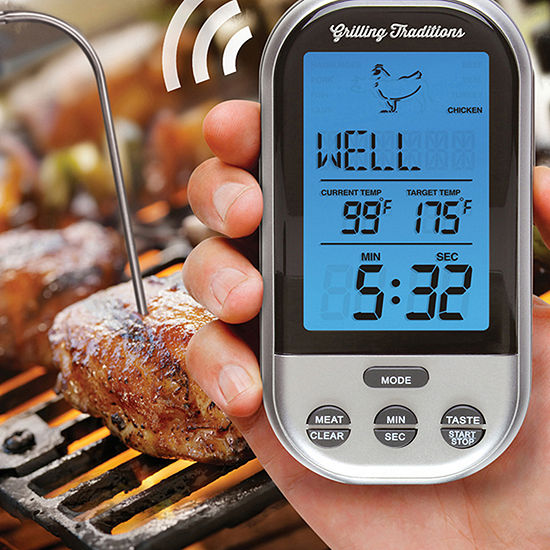 Grilling Traditions™ Wireless Grill Thermometer