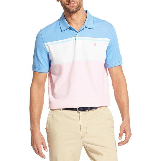 IZOD Big and Tall Advantage Performance Mens Short Sleeve Polo Shirt