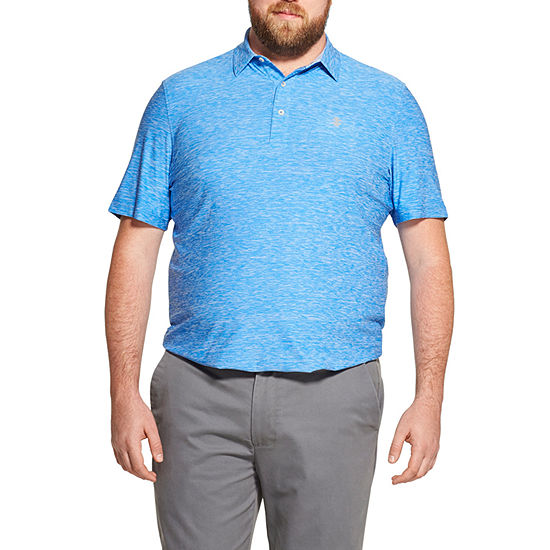 IZOD Big and Tall Title Holder Polo Mens Short Sleeve Polo Shirt