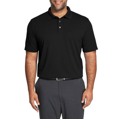 Van Heusen Mens Cooling Short Sleeve Polo Shirt Big and Tall