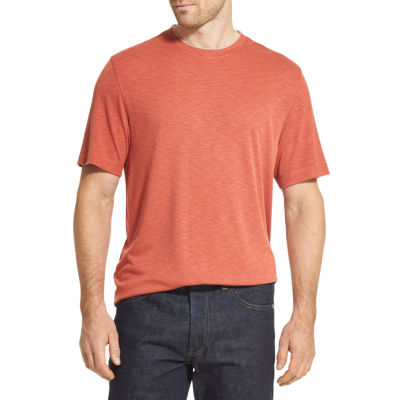 Van Heusen Mens Crew Neck Short Sleeve Polo Shirt Big and Tall