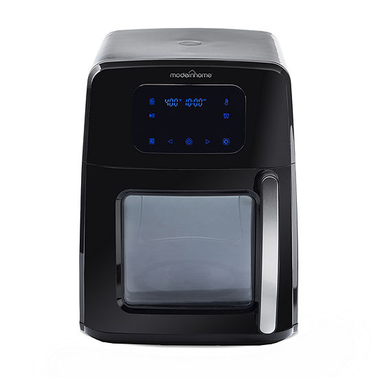 Modernhome 8 Qt 12-in-1 Digital Touch-Screen Signature Air Fryer Oven with Auto-Stirring Arm