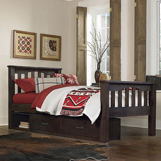 Highlands Harper Bed with Storage