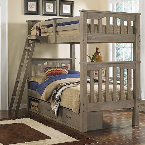 Highlands Harper Bunk Bed with Storage