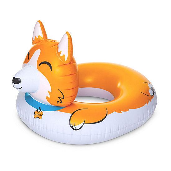 Big Mouth Corgi Pool Float