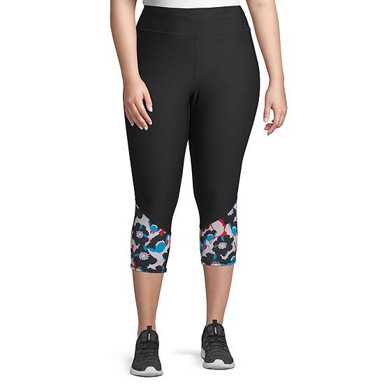 Xersion Print Performance Capri – Plus