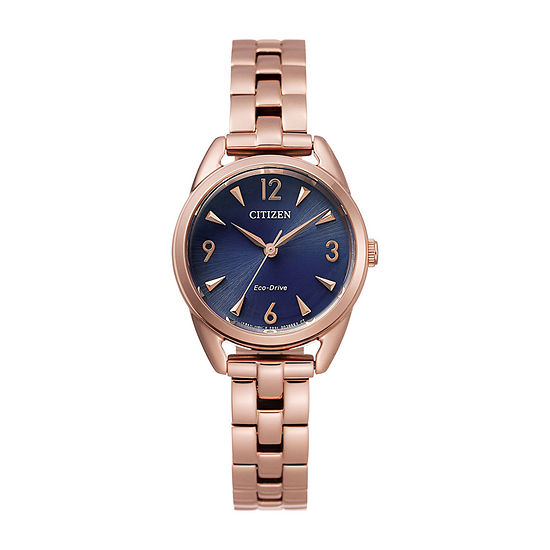 Drive from Citizen Womens Rose Goldtone Stainless Steel Bracelet Watch-Em0688-78l