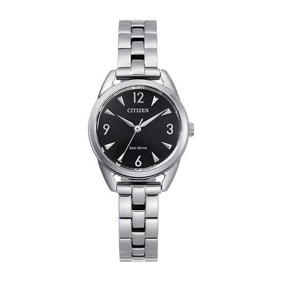 Drive from Citizen Womens Silver Tone Stainless Steel Bracelet Watch - Em0680-70e