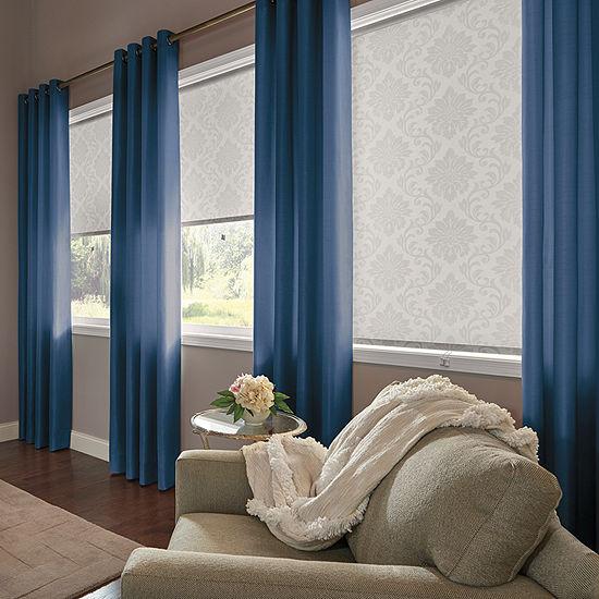 Bali Coastal Custom Room Darkening Grommet-Top Single Curtain Panel
