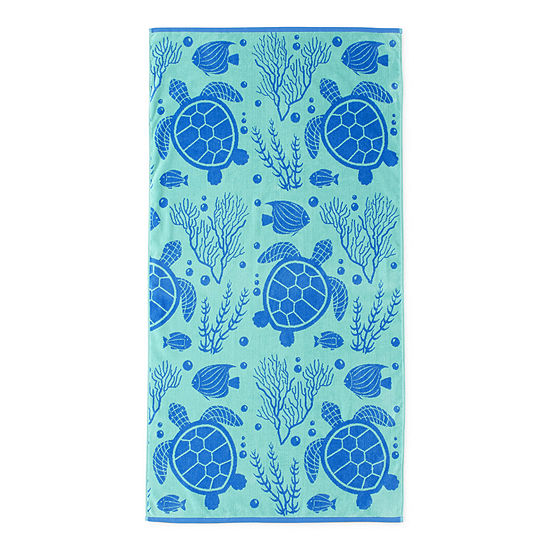 Outdoor Oasis Sealife Beach Towel