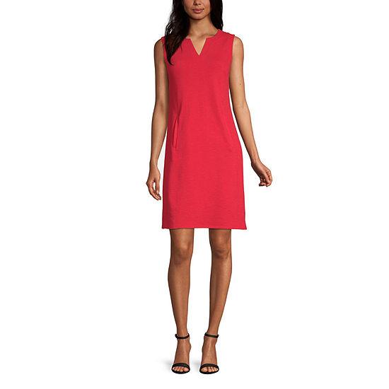 Liz Claiborne Sleeveless Knit Dress - Tall