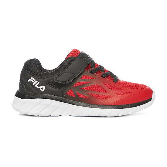 Fila Speedstride Strap Little Kids Boys Running Shoes