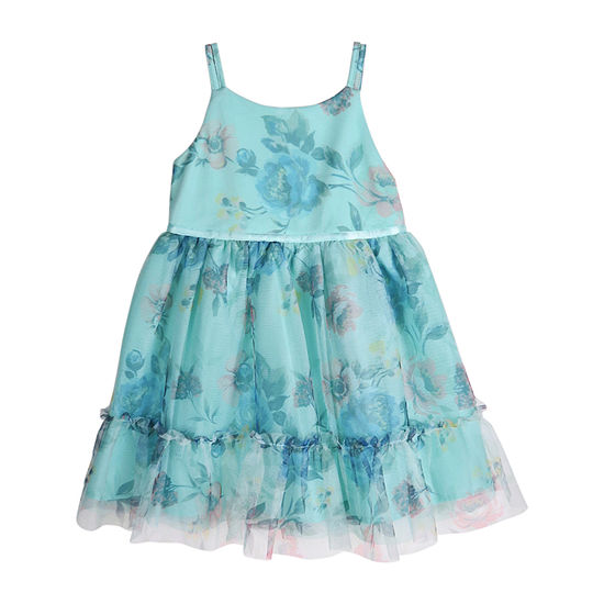 Lilt Toddler Girls Sleeveless Party Dress