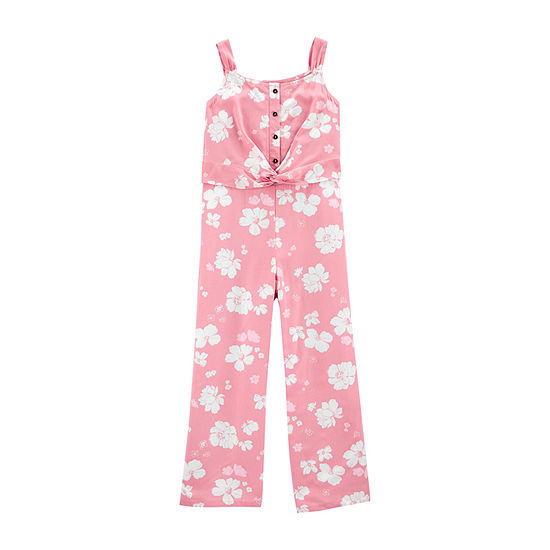 Carter's Little & Big Girls Sleeveless Jumpsuit