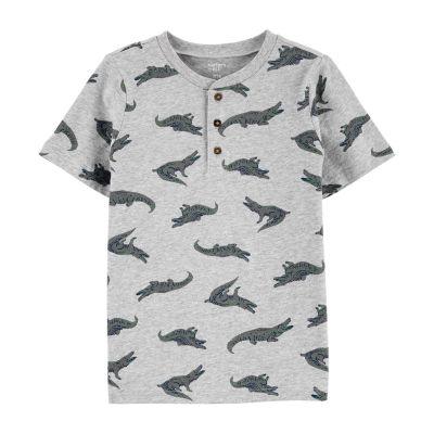 Carter's Little & Big Boys Short Sleeve Henley Shirt