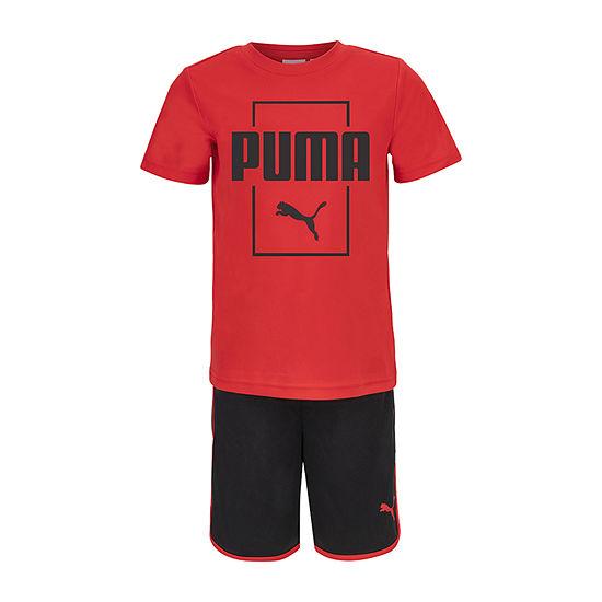 Puma Little Boys 2-pc. Short Set