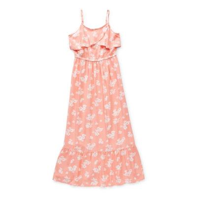 Peyton & Parker Mommy & Me Little & Big Girls Sleeveless Floral Maxi Dress