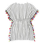 Arizona Little & Big Girls Striped Swimsuit Cover-Up Dress