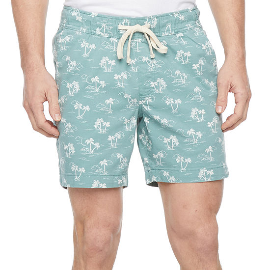 "St. John's Bay Men's 7"" Deck Short"