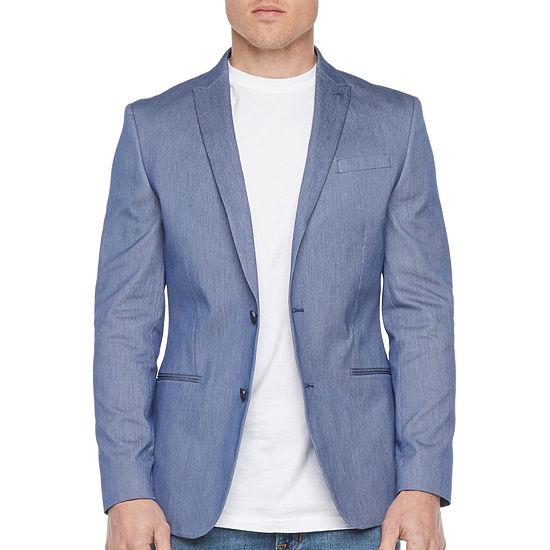 JF J.Ferrar Everyday 360 Mens Slim Fit Sport Coat - Slim