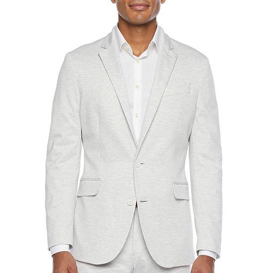 JF J.Ferrar 360 Knit Mens Stretch Slim Fit Suit Jacket