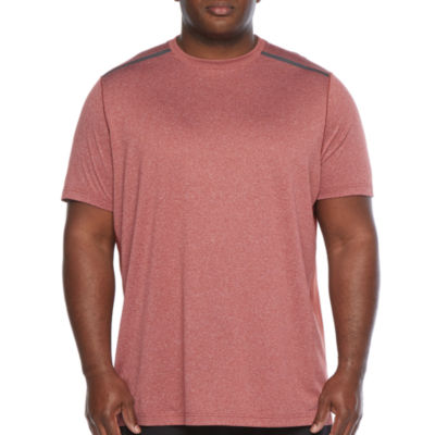 Msx By Michael Strahan Big and Tall Mens Crew Neck Short Sleeve T-Shirt