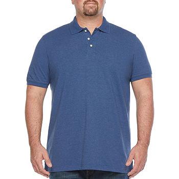 The Foundry Big & Tall Supply Co. Mens Short Sleeve Polo Shirt