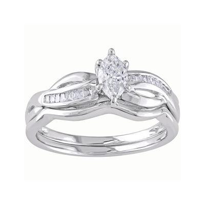 ½ CT. T.W. Diamond Bridal Set