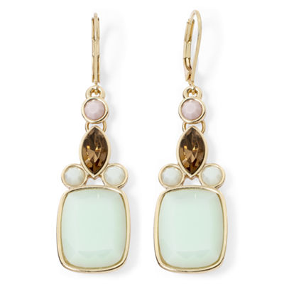 Monet® Multicolor Gold-Tone Statement Earrings