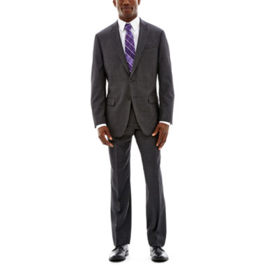 jcpenney.com | Claiborne® Charcoal Herringbone Suit Separates - Classic Fit