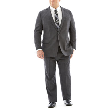 jcpenney.com | Claiborne® Charcoal Herringbone Suit Separates - Big & Tall