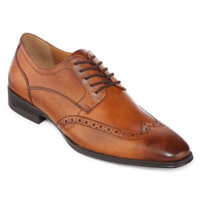 Collection by Michael Strahan  Mens Hudson Oxford Shoes Wing Tip