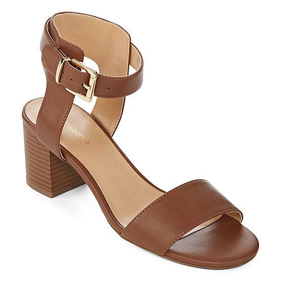 5fc7f069ac2 Liz Claiborne Womens Eclipse Heeled Sandals - JCPenney