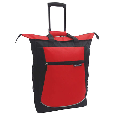 """Travelers Club 20"""" Rolling Cooler Tote"""