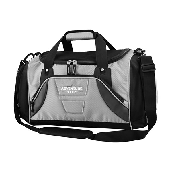 Travelers Club Adventure Redwood 2-section Drop-bottom Duffel