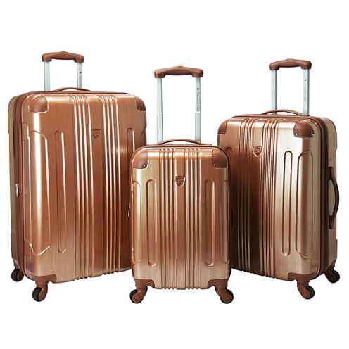Travelers Club Polaris 3-pc. Luggage Set