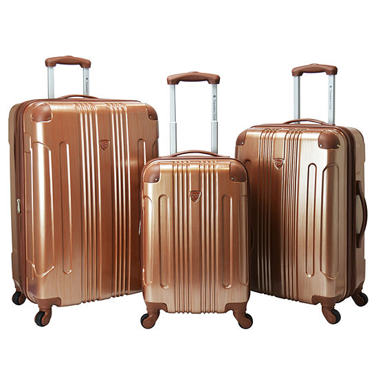 Travelers Club Polaris 3 Pc Luggage Set