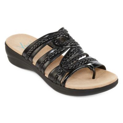 Yuu Dansa Womens Slide Sandals